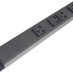 "12"" Hardwired Power Strip with 4 20A Outlets HT104NV1"