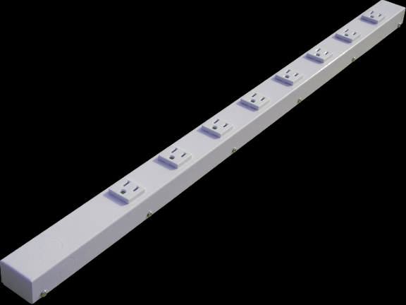 "30"" 8 Outlet Hardwired Power Strip H03008NVW"