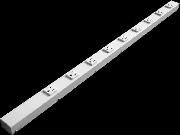 """36"""" 9 Outlet Hardwired Power Strip H309NVW"""