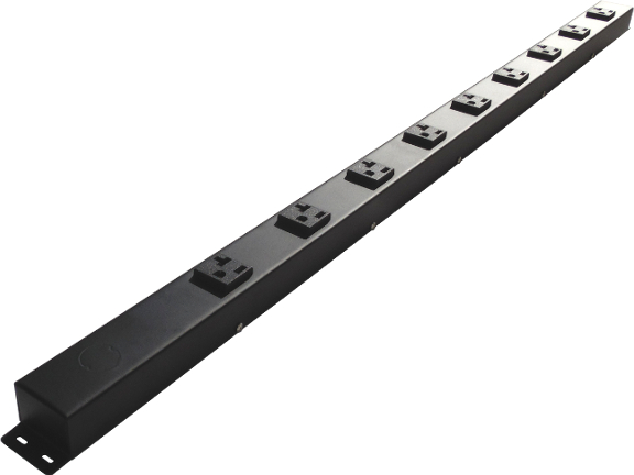 "36"" Hardwired Power Strip with 9 20A Outlets HT309NV1"