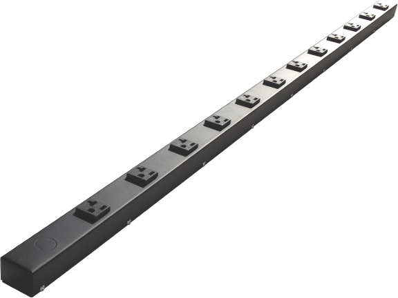 "48"" Hardwired Power Strip with 12 20A Outlets HT412NV"