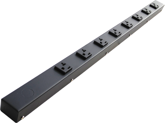 "30"" Hardwired Power Strip with 8 20A Outlets HT03008NV"